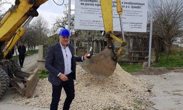 Стоян Пасев направи първа копка на мащабен проект в Дългопол (снимки)