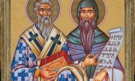 Българската православна църква почита на 11 май паметта на Светите равноапостоли Кирил и Методий