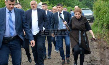 """Б.Б. нагази в калта, показва как магистрала """"Хемус"""" отива към Черноморието: """"Търговище ще има море"""", значи БСП губи там"""