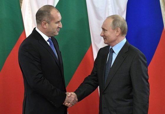 Путин към Радев: Радва ни, че се активизираха отношенията ни на ниво правителства и парламенти