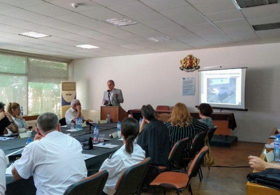 Специалисти обсъдиха как да се намали рискът от наводнения от река Камчия край Гроздьово и Дъбравино