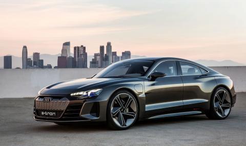 Audi e-tron GT ще започне да се произвежда през края на 2020-та