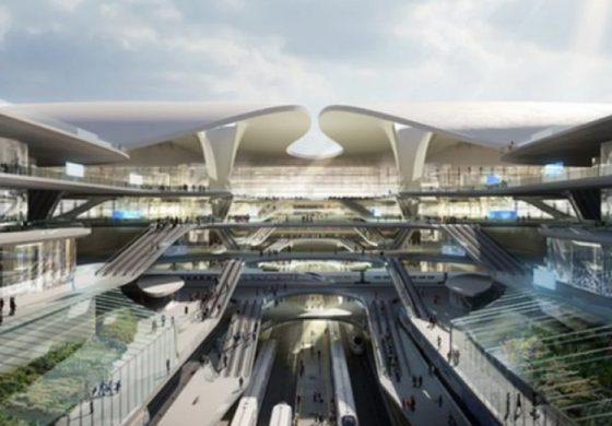 Как архитектите виждат новото летище на Полша (галерия)