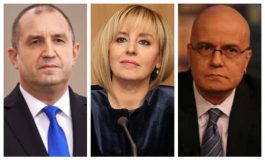 Президентът, Мая Манолова и Слави Трифонов - с най-висок рейтинг