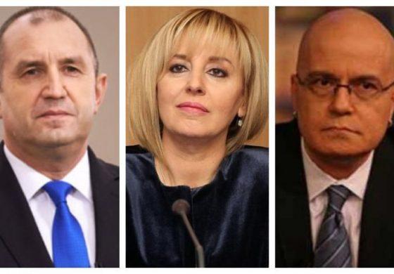 Президентът, Мая Манолова и Слави Трифонов – с най-висок рейтинг