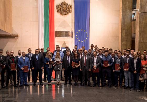 Сотир Цацаров и Иван Гешев наградиха знакови прокурори