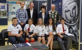 """Космическа видеоконференция се проведе в комплекс """"Камчия"""""""