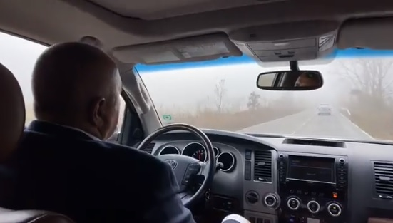 """Борисов инспектира новостроящ се участък от АМ """"Хемус"""""""