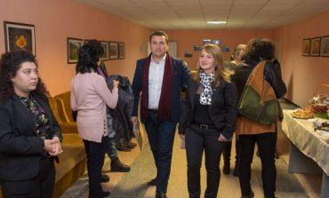 """Общинският съветник Хюсни Адем и директори сред гостите на семинара на ПГСС """"Земя"""" Провадия - снимки"""
