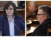"""Вижте кои 27 депутати от БСП не спазиха партийната повеля и гласуваха """"за"""" Цацаров"""