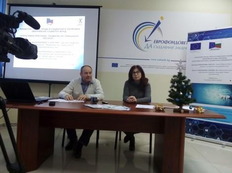 Лица с увреждания от Бяла и Долни чифлик ще станат журналисти по европроект