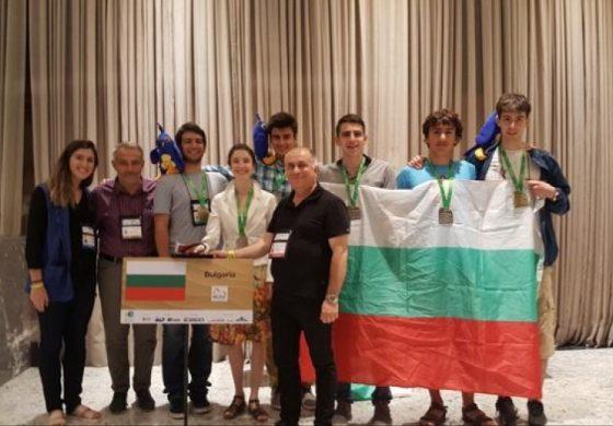 България е в топ 10 на страните с най-много златни медали по математика