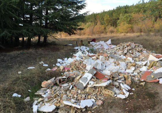 Нерегламентирани сметища се появиха край Аксаково