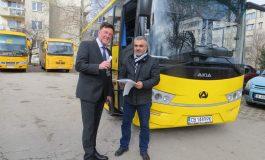 Нов училищен автобус получи община Провадия