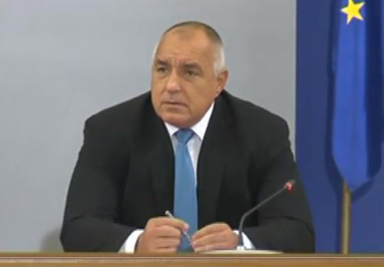 Борисов: 500 млн. лв за лекари, полиция и военни, 4,5 млрд. за бизнеса, отлагаме данъци до 30 юни