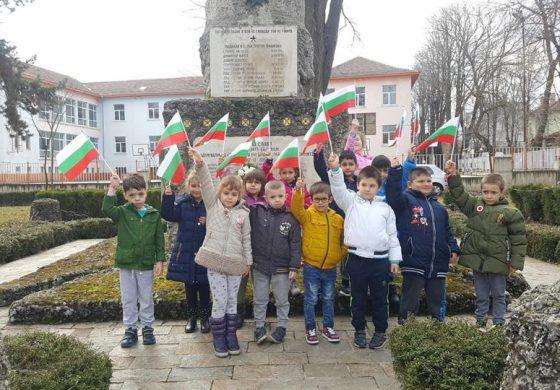 С песни и стихове, децата на Белослав отбелязаха Националния празник на България – 3 март