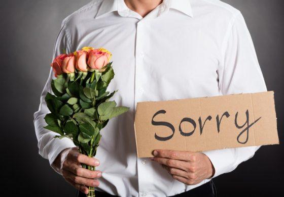 4-те вида фалшиви извинения