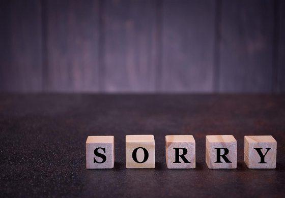 Защо ни е трудно да се извиняваме?