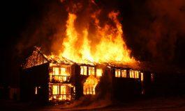 Изгоря къща в с. Китка, общ. Аврен (видео)