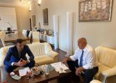 Борисов проведе среща с кмета на Бяла Пеньо Ненов за изграждането на брегоукрепително съоръжение