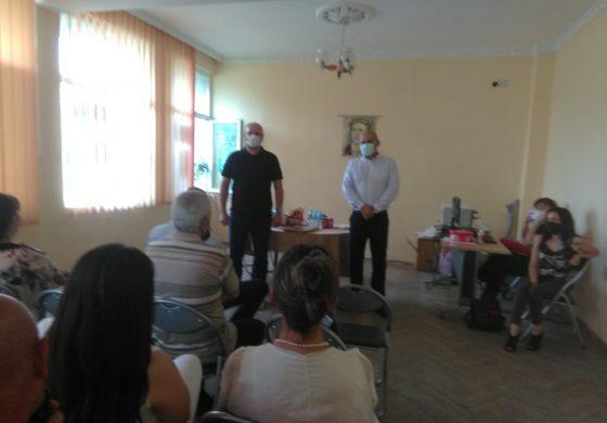 Народният представител Павел Христов посети Ветрино и Вълчи дол