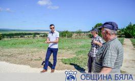 Кметът на Община Бяла инспектира ремонтни дейности (СНИМКИ)