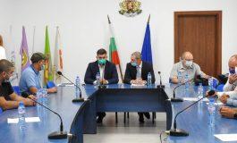 Евродепутатът Андрей Новаков бе в Търговище за среща с представители на фирми за международен транспорт