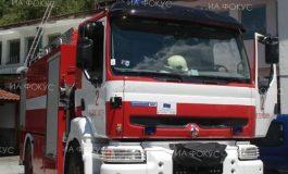 Лек автомобил е изгорял при пожар в Долни чифлик