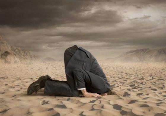 Ефектът на щрауса: Срамът от правенето на грешки е отживелица