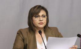 Корнелия Нинова: Готвим се за предсрочни избори, не допусках, че Борисов ще подаде оставка