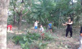 Паркът в село Тутраканци обедини цяло село