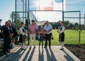 С футболен мач откриха изграденото с европейски средства игрище в Дългопол