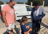 Свилен Шитов отново дари всички първолаци с раници и учебни пособия