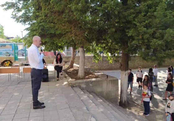 Кмета на Община Аврен г-н Емануил Манолов честити първия учебен ден на първолаците и на всички ученици и учители в общината