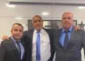 Бойко Борисов лично поздрави Димо Димов и Иван Параскевов за безапелационната победа в Бозвелийско