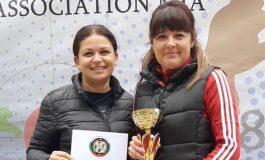 Първо място при жените за отбора по стрелба на ОДМВР-Силистра на национално състезание
