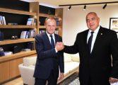 Доналд Туск отново подкрепи Бойко Борисов