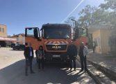 Още един нов камион за сметосъбиране бе доствен в Аврен