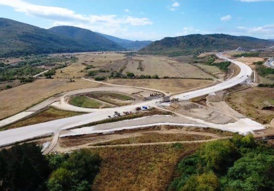 """Напредва строителството на магистрала """"Хемус"""" (Снимки и Видео)"""