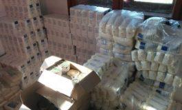 Близо 300 души в община Бяла получиха пакети с хранителни продукти