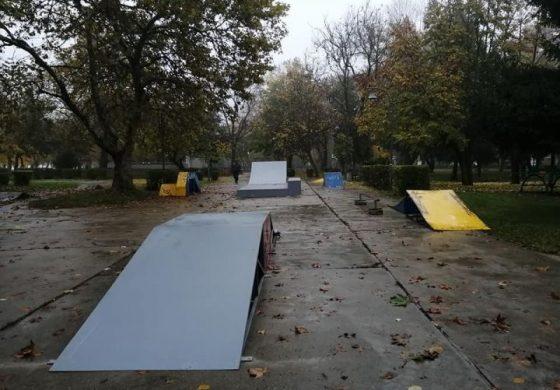 Площадката с най-съвременни уреди за скейтборд е оборудвана в Дунавския парк в Силистра