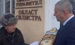 Областният управител на Силистра награди журналист юбиляр