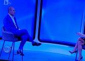 """Цветан Цветанов прекали с провокациите в интервюто си пред Мария Цънцарова в """"120 минути"""" на bTV. Открива фронт да бъде атакуван"""