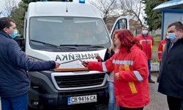 Спешната помощ в град Вълчи дол получи чисто нова оборудвана линейка