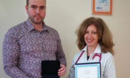 """Връчиха приз """"Лекар на годината 2020"""" в Силистра"""