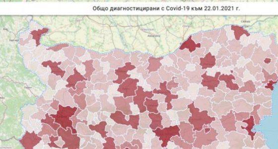 Община Крушари е сред най-малко засегнатите от ковид пандемията в страната