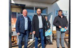 Депутатът от ГЕРБ Павел Христов се срещна с партийния кандидат за кмет на Слънчево