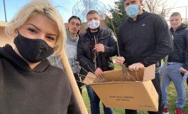 Младежите от ГЕРБ Аврен засадиха дръвчета в село Близнаци (снимки)