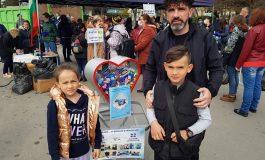 """Девня предаде над 400 кг пластмасови капачки в подкрепа на каузата """"Аз вярвам и помагам"""""""