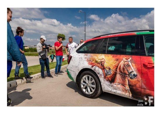 За втора поредна година Историческия парк край Ветрино обявява конкурс за превозни средства, персонализирали външния си вид в българска стилистика